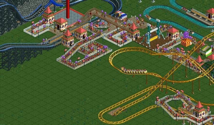 RollerCoaster Tycoon World Highly Compressed PC Game For Free Download