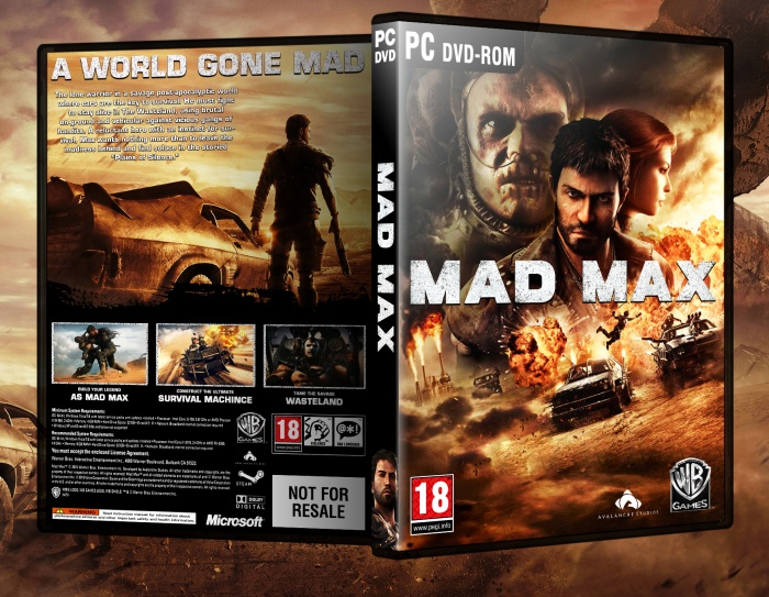 Mad Max CD Key + Crack PC Game For Free Download